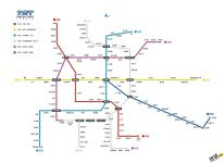 天津地铁线路图_运营时间票价站点_查询下载