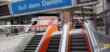 德国地铁突发追尾造成2重伤21轻伤