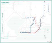 青岛地铁线路图_运营时间票价站点_查询下载