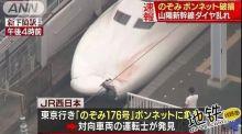 日本新干线撞人了?(附报告)