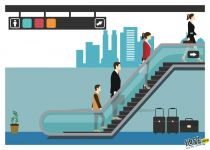 地铁站带着大件行李,到底能不能乘坐扶梯呢?