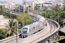 """印度孟买地铁:""""曾经有人质疑,事实证明中国列车值得信赖"""""""