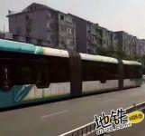 全国首个县级ART智轨列车已试运行