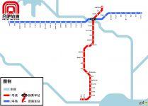 合肥地铁线路图_运营时间票价站点_查询下载