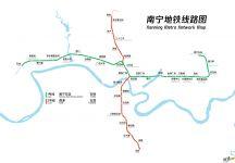 南宁地铁线路图_运营时间票价站点_查询下载