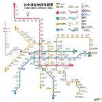 台北捷运地铁线路图_运营时间票价站点_查询下载