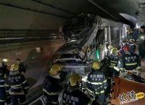 重庆轨道地铁环线人防门与列车发生擦碰 致3个站暂停运