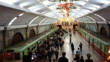 在朝鲜乘坐世界最深地铁是什么体验?