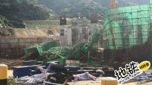 深圳在建地铁站发生倒塌 一名受困工人获救