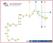 佛山地铁线路图_运营时间票价站点_查询下载
