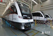 国内首列时速140公里地铁正式下线亮相