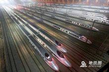 """京沪陆续开行通往多地的""""红眼高铁"""" 高铁夜行或将来临"""