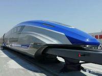 湖北将建高速磁浮高铁 将成京广超级高铁组成部分