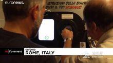 罗马推行塑料瓶换地铁票计划:1瓶=0.05欧