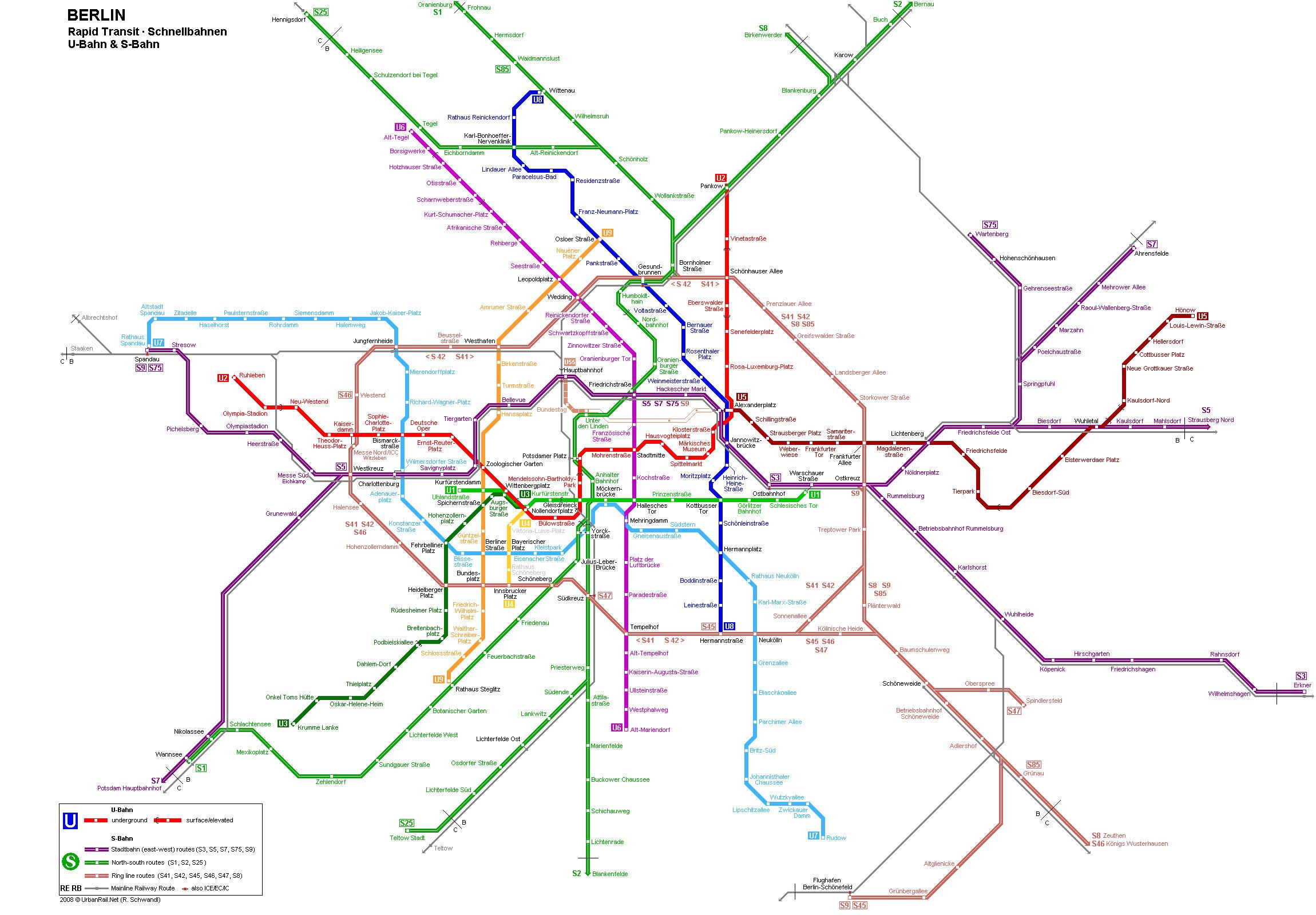 德国柏林地铁线路图 运营时间票价站点 查询下载 柏林地铁查询 柏林地铁票价 柏林地铁运营时间 柏林地铁线路图 德国地铁 柏林地铁 德国地铁线路图  第2张
