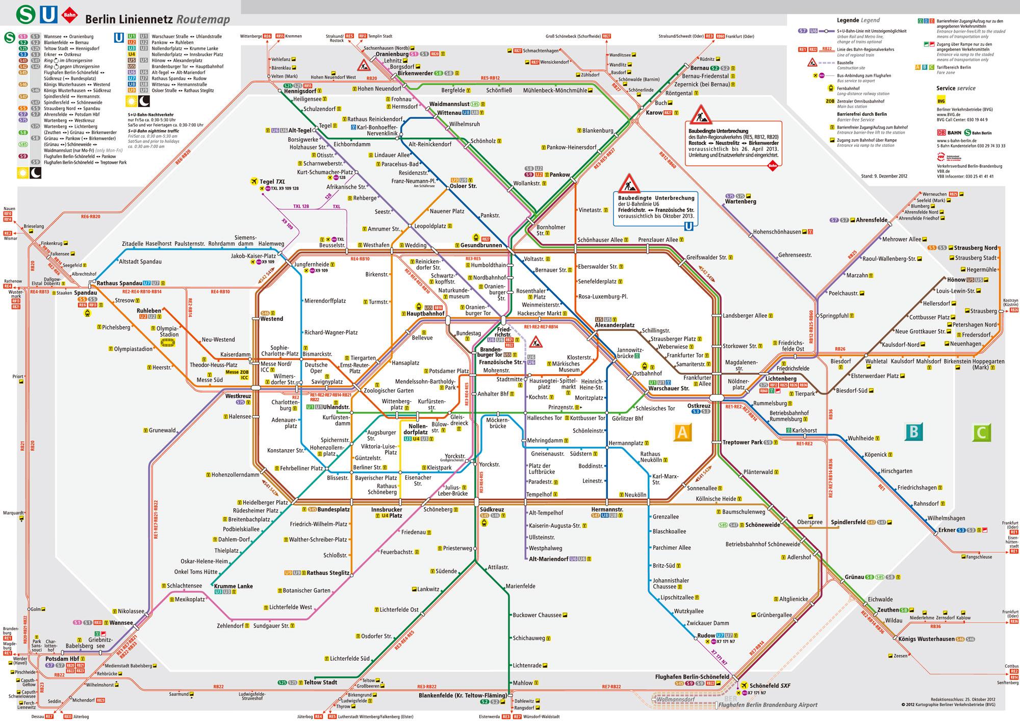 德国柏林地铁线路图 运营时间票价站点 查询下载 柏林地铁查询 柏林地铁票价 柏林地铁运营时间 柏林地铁线路图 德国地铁 柏林地铁 德国地铁线路图  第3张