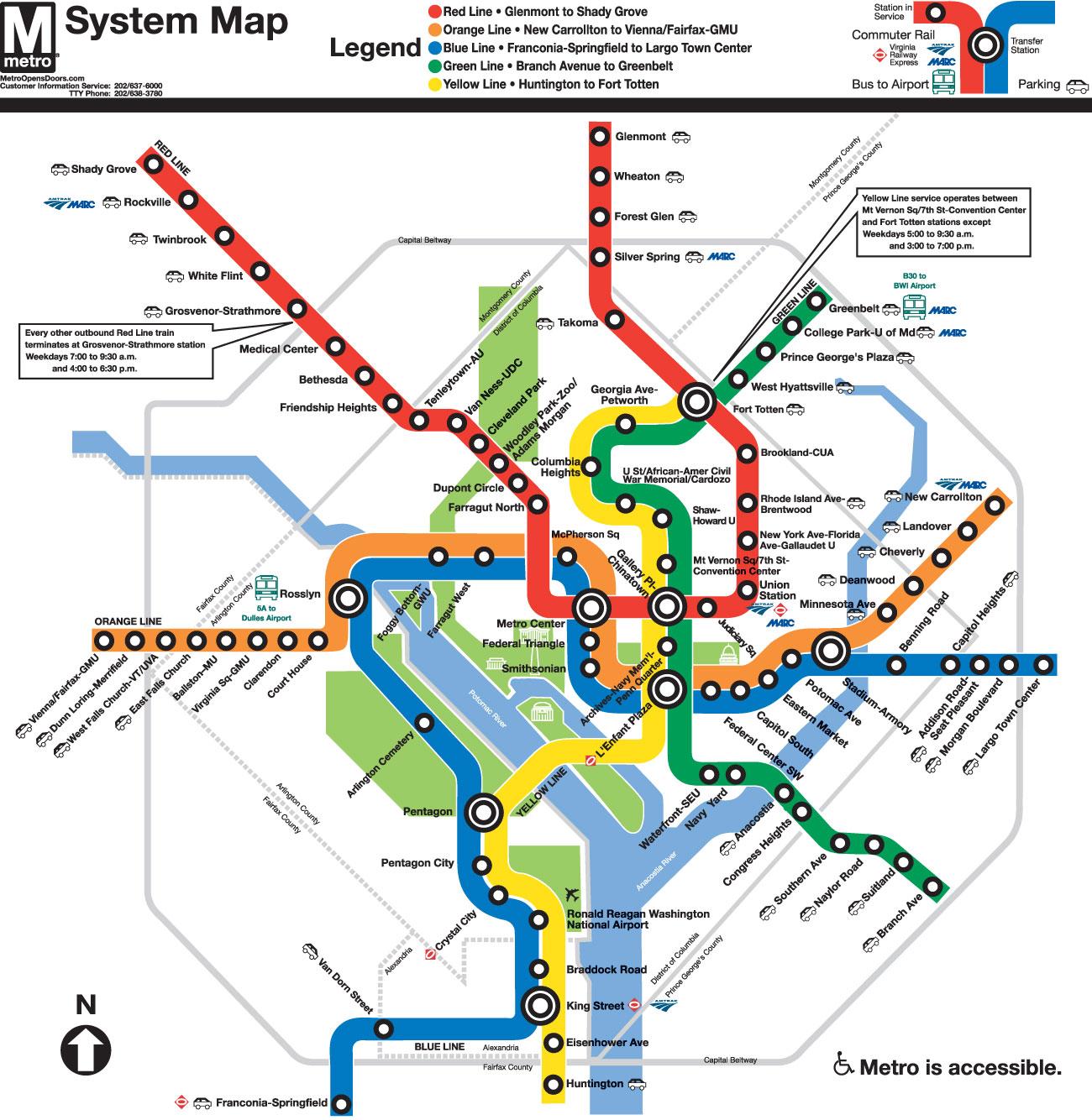 美国华盛顿地铁线路图 运营时间票价站点 查询下载 华盛顿地铁查询 华盛顿地铁票价 华盛顿地铁运营时间 华盛顿地铁线路图 美国地铁 华盛顿地铁 美国地铁线路图  第3张