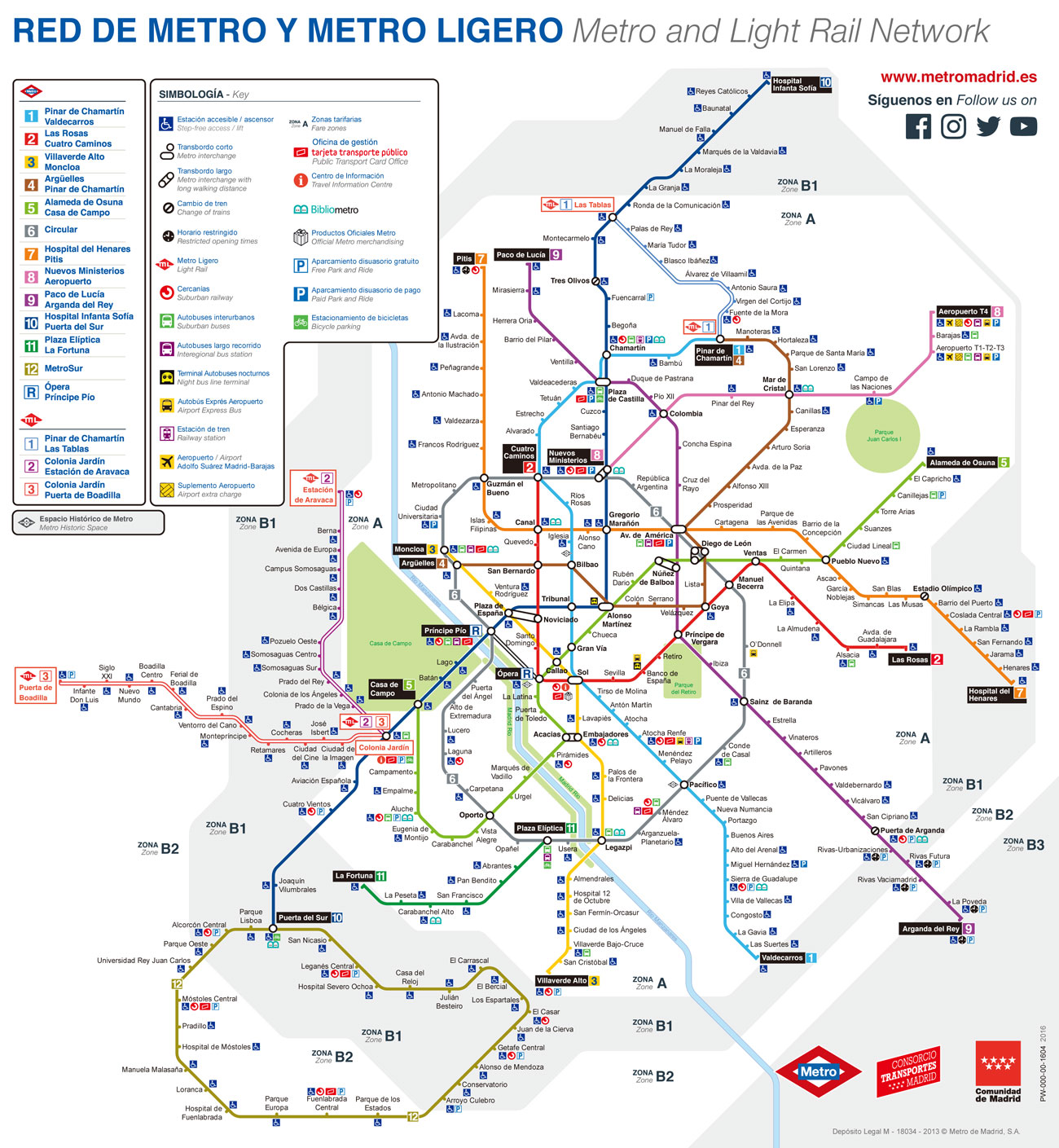 西班牙马德里地铁线路图 运营时间票价站点 查询下载 马德里地铁查询 马德里地铁票价 马德里地铁运营时间 马德里地铁线路图 马德里地铁 西班牙地铁 西班牙地铁线路图  第2张