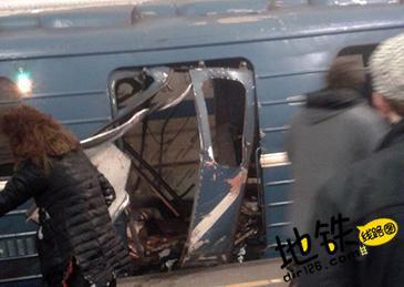 俄罗斯圣彼得堡地铁站发生爆炸 轨道动态