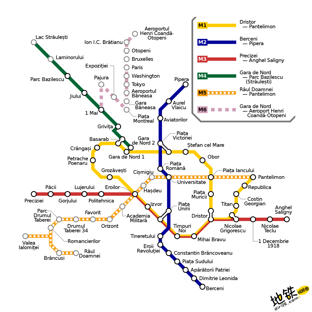 罗马尼亚布加勒斯特地铁线路图 运营时间票价站点 查询下载 布加勒斯特地铁票价查询 布加勒斯特地铁运营时间 布加勒斯特地铁线路图 布加勒斯特地铁 罗马尼亚布加勒斯特地铁 罗马尼亚地铁线路图  第2张