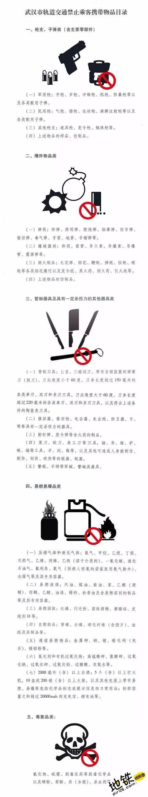 武汉地铁安检新规:禁带超2万毫安的充电宝、锂电池 锂电池 充电宝 新规 安检 武汉地铁 轨道动态  第2张
