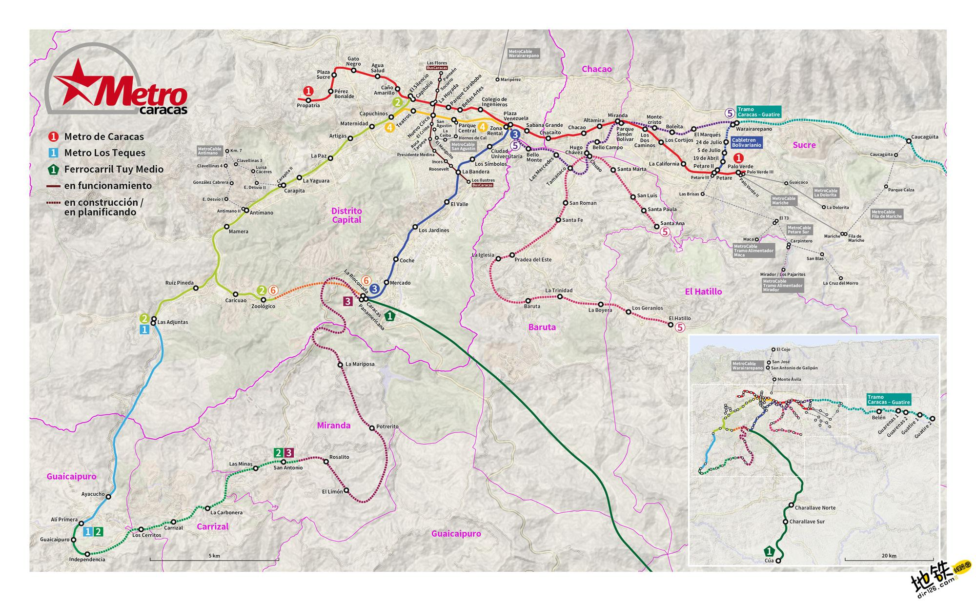 委内瑞拉加拉加斯地铁线路图 运营时间票价站点 查询下载 加拉加斯地铁票价查询 加拉加斯地铁运营时间 加拉加斯地铁线路图 加拉加斯地铁 委内瑞拉加拉加斯地铁 委内瑞拉地铁线路图  第3张