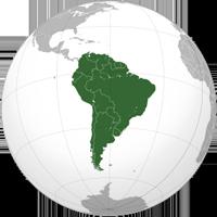 南美洲地铁线路图