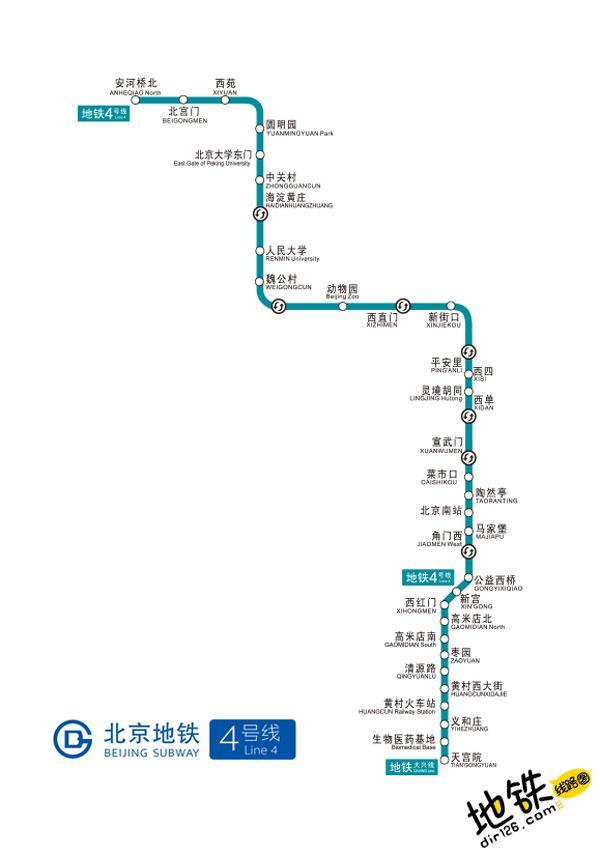 北京地铁4号线线路图 运营时间票价站点 查询下载 北京地铁4号线查询 北京地铁4号线运营时间 北京地铁4号线线路图 北京地铁四号线 北京地铁4号线 北京地铁线路图  第2张