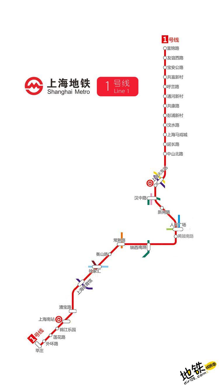 上海地铁1号线线路图 运营时间票价站点 查询下载 上海地铁1号线查询 上海地铁1号线运营时间 上海地铁1号线线路图 上海地铁1号线 上海地铁一号线 上海地铁线路图  第2张