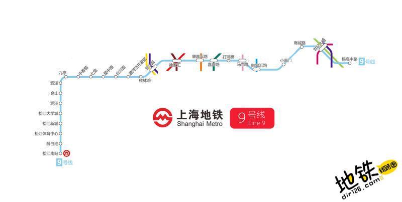 上海地铁9号线线路图 运营时间票价站点 查询下载 上海地铁9号线查询 上海地铁9号线运营时间 上海地铁9号线线路图 上海地铁9号线 上海地铁九号线 上海地铁线路图  第2张