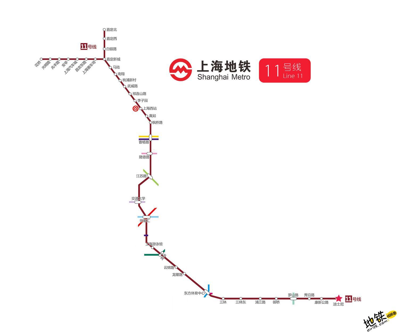 上海地铁11号线线路图 运营时间票价站点 查询下载 上海地铁11号线查询 上海地铁11号线运营时间 上海地铁11号线线路图 上海地铁11号线 上海地铁十一号线 上海地铁线路图  第2张