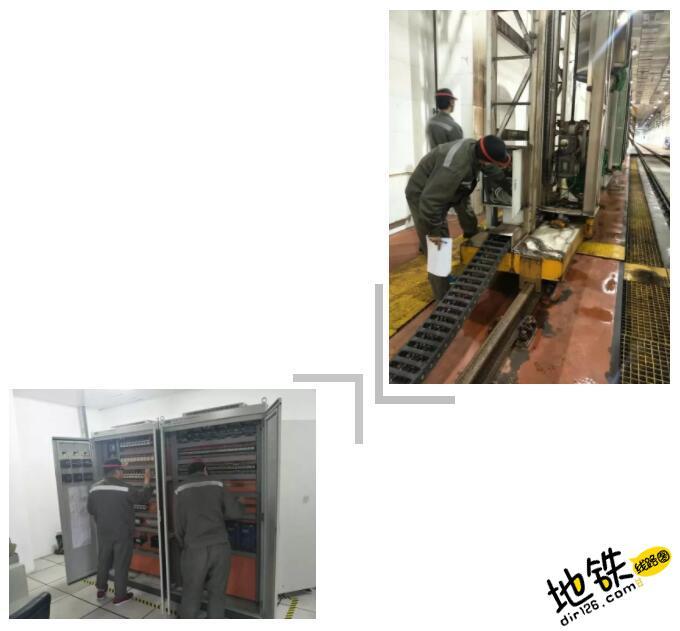 """地铁洗车机也有""""体检"""" 地铁人 体检 地铁洗车机 洗车 地铁 轨道知识  第2张"""