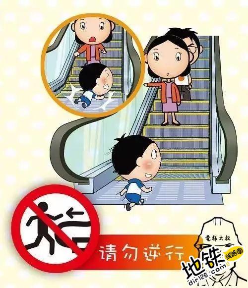 千万别让孩子这么玩,这可不是闹着玩的! 电梯 扶梯 玩儿 孩子 轨道 地铁 轨道动态  第3张