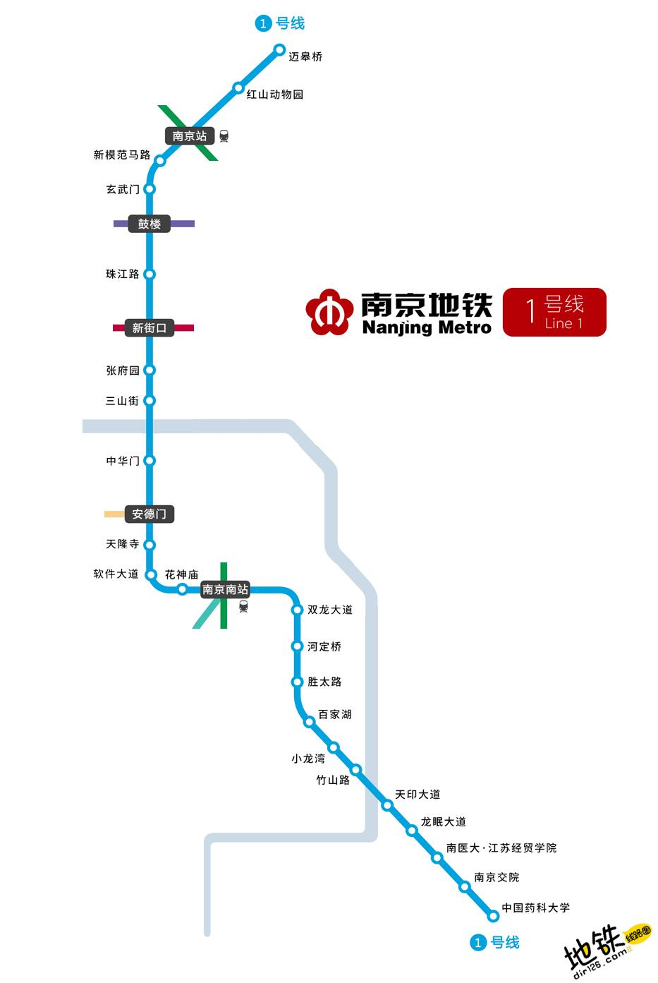 南京地铁1号线线路图 运营时间票价站点 查询下载 南京地铁1号线查询 南京地铁1号线运营时间 南京地铁1号线线路图 南京地铁1号线 南京地铁一号线 南京地铁线路图  第2张