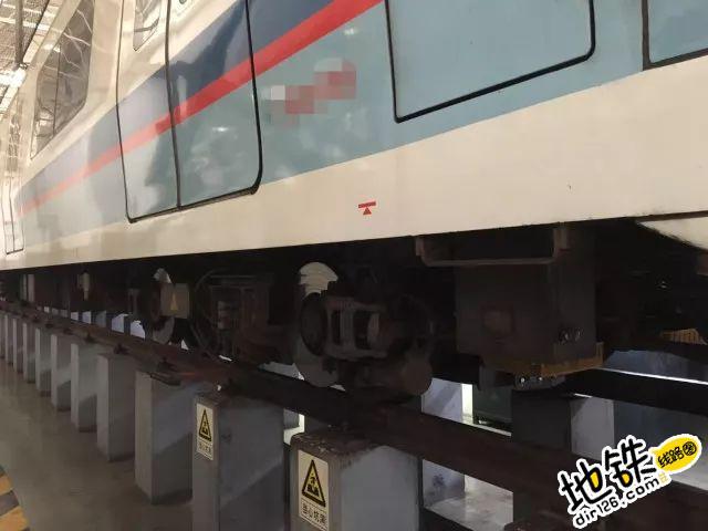 地铁列车需要换轮的吗?又涨知识了! 车轴 镟轮 地铁换车轮 车轮 地铁 轨道知识  第1张