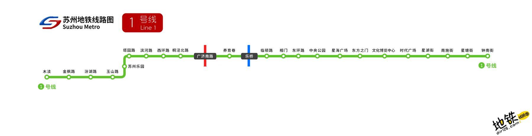 苏州地铁1号线线路图 运营时间票价站点 查询下载 苏州地铁1号线查询 苏州地铁1号线运营时间 苏州地铁1号线线路图 苏州地铁1号线 苏州地铁一号线 苏州地铁线路图  第2张