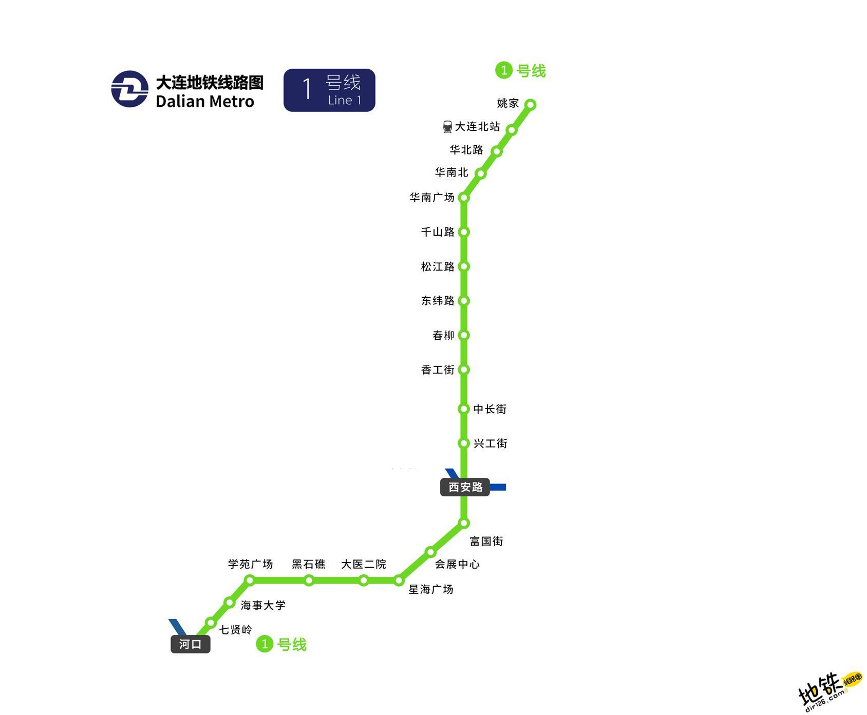 大连地铁1号线线路图 运营时间票价站点 查询下载 大连地铁1号线查询 大连地铁1号线运营时间 大连地铁1号线线路图 大连地铁1号线 大连地铁一号线 大连地铁线路图  第2张