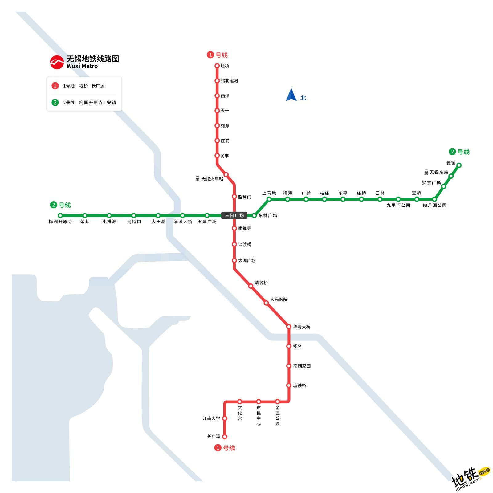 无锡地铁线路图 运营时间票价站点 查询下载 无锡地铁查询 无锡地铁线路图 无锡地铁票价 无锡地铁运营时间 无锡地铁 无锡地铁线路图  第1张