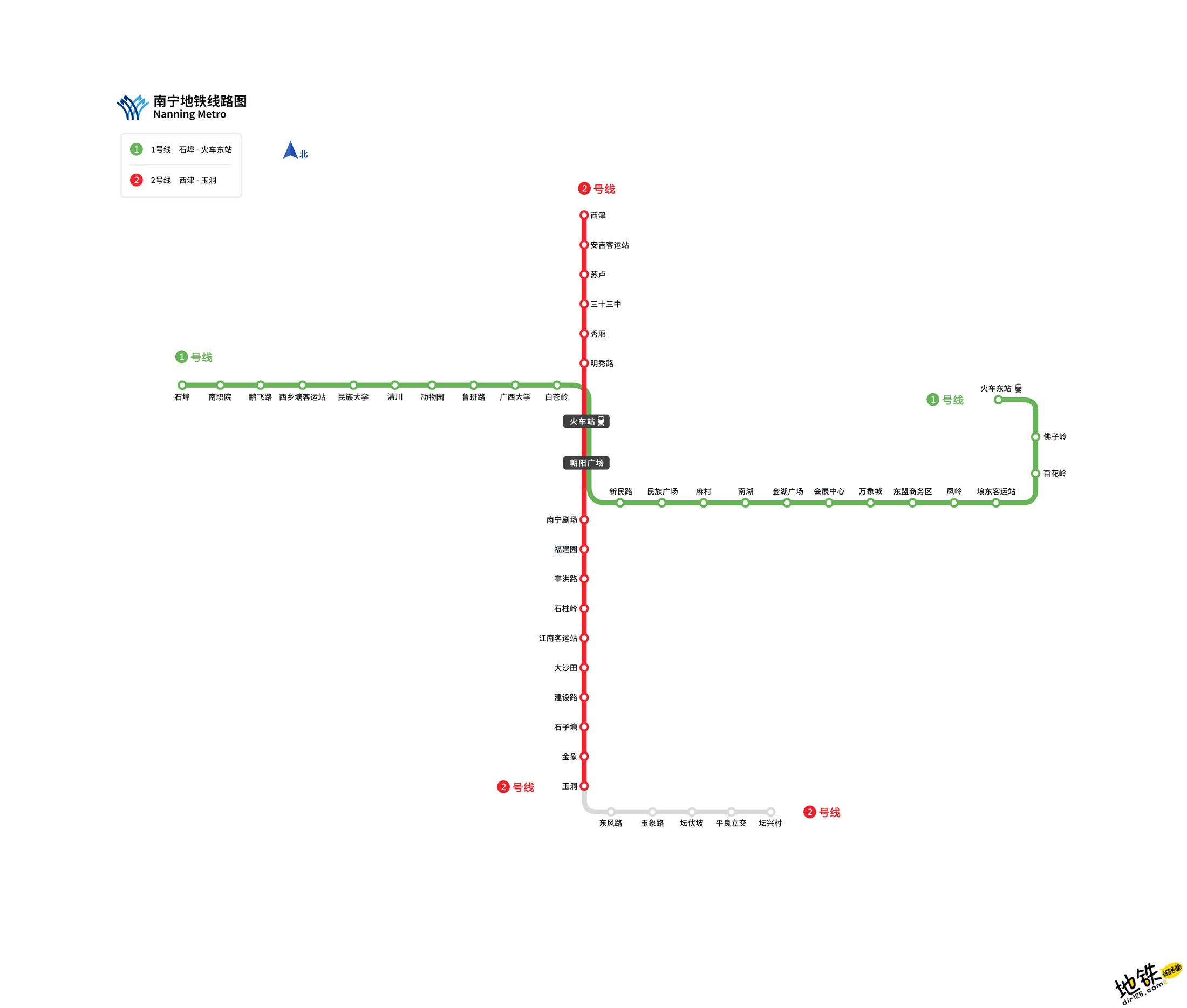 南宁地铁线路图 运营时间票价站点 查询下载 南宁地铁查询 南宁地铁线路图 南宁地铁票价 南宁地铁运营时间 南宁地铁 南宁地铁线路图  第1张