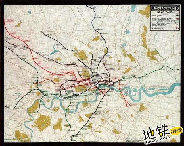 地铁线路图可能是世界上最大的骗局 骗局 线路图 地图 地铁 地铁线路图 轨道动态  第2张