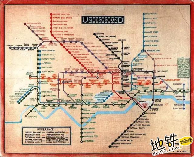 地铁线路图可能是世界上最大的骗局 骗局 线路图 地图 地铁 地铁线路图 轨道动态  第4张