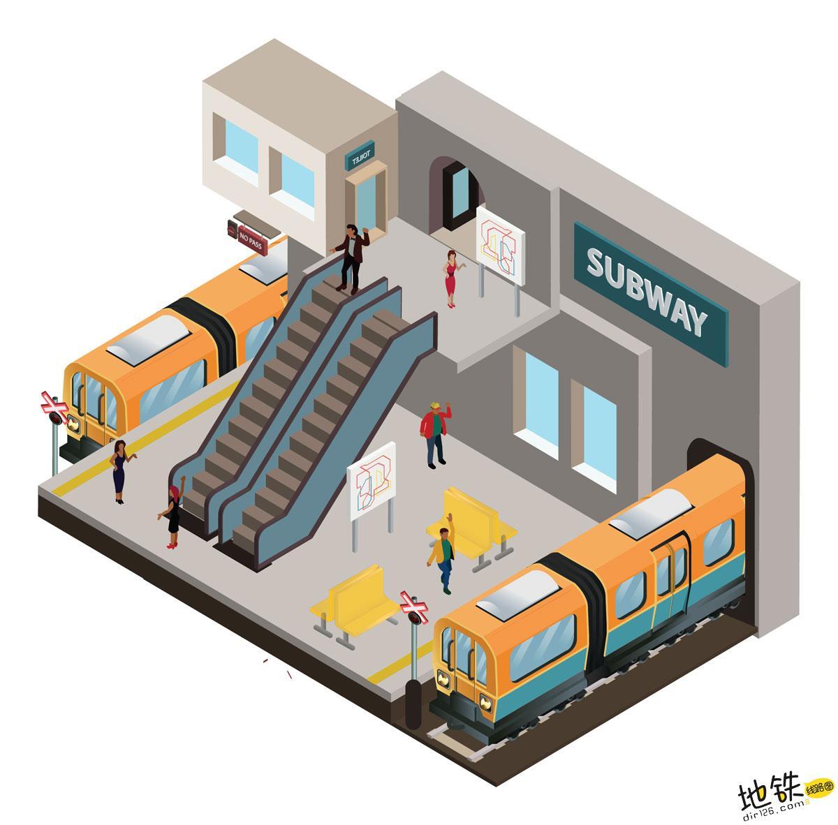 为什么地铁有时候开这边车门,有时候开另一边车门呢? 混合式站台 侧式站台 岛式站台 地铁站台 地铁站 地铁 轨道知识  第1张