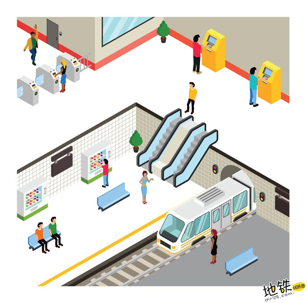 为什么地铁有时候开这边车门,有时候开另一边车门呢? 混合式站台 侧式站台 岛式站台 地铁站台 地铁站 地铁 轨道知识  第5张