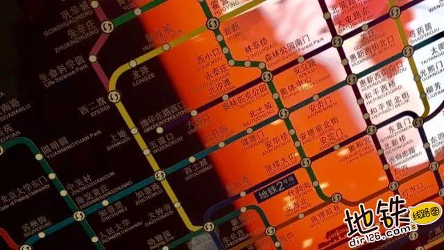 关于地铁线路图可读性的思考 广告 可读性 地铁线路图 地铁 轨道知识  第4张
