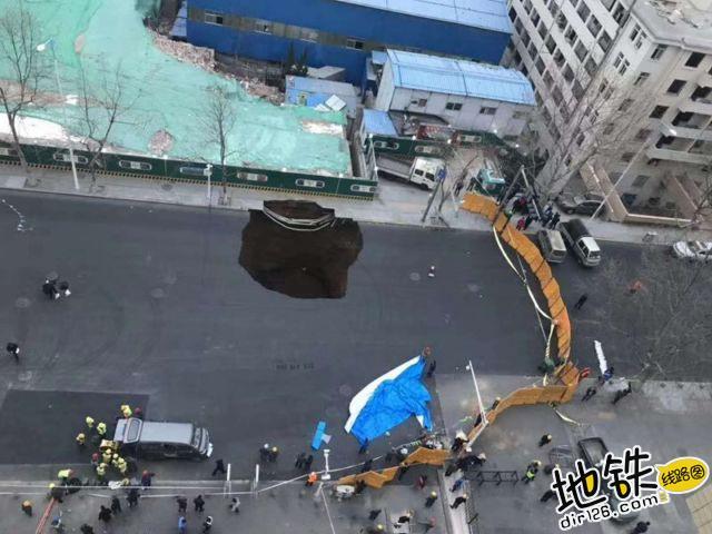 青岛地铁2号线西段发生塌方 无人员伤亡 运营 交通 塌陷 青岛地铁 轨道动态  第2张