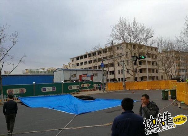青岛地铁2号线西段发生塌方 无人员伤亡 运营 交通 塌陷 青岛地铁 轨道动态  第3张