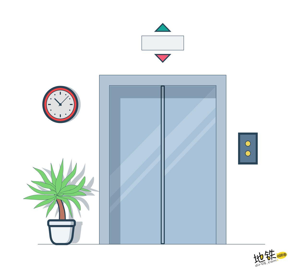"""地铁里容易""""忽视""""的直梯 地铁站 扶梯 电梯 直梯 地铁 轨道知识  第1张"""
