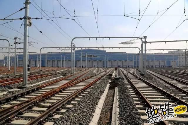 每天运营结束后 地铁列车会停到哪里呢? 保养 运营 停车场 车辆段 地铁 轨道知识  第3张