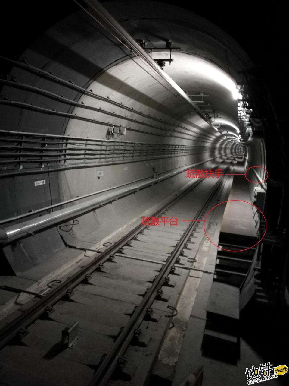 地铁隧道疏散平台简介 隧道 乘客 疏散平台 地铁 轨道知识  第2张