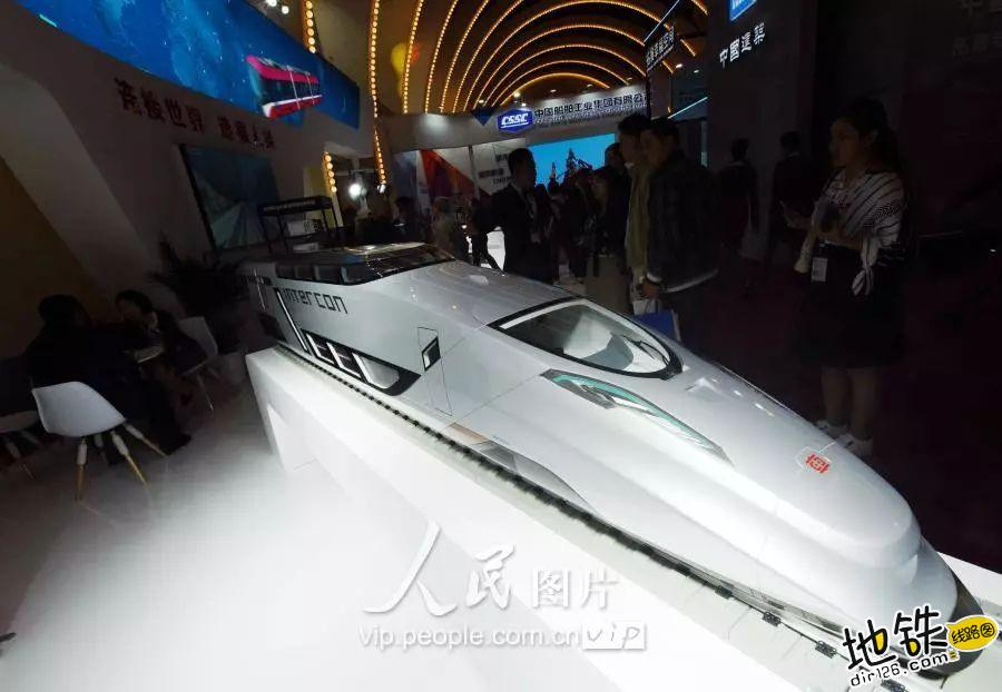 洲际概念高铁列车首次在国内展出 最低时速400公里 互联互通 列车 中国中车 洲际高铁 轨道动态  第2张